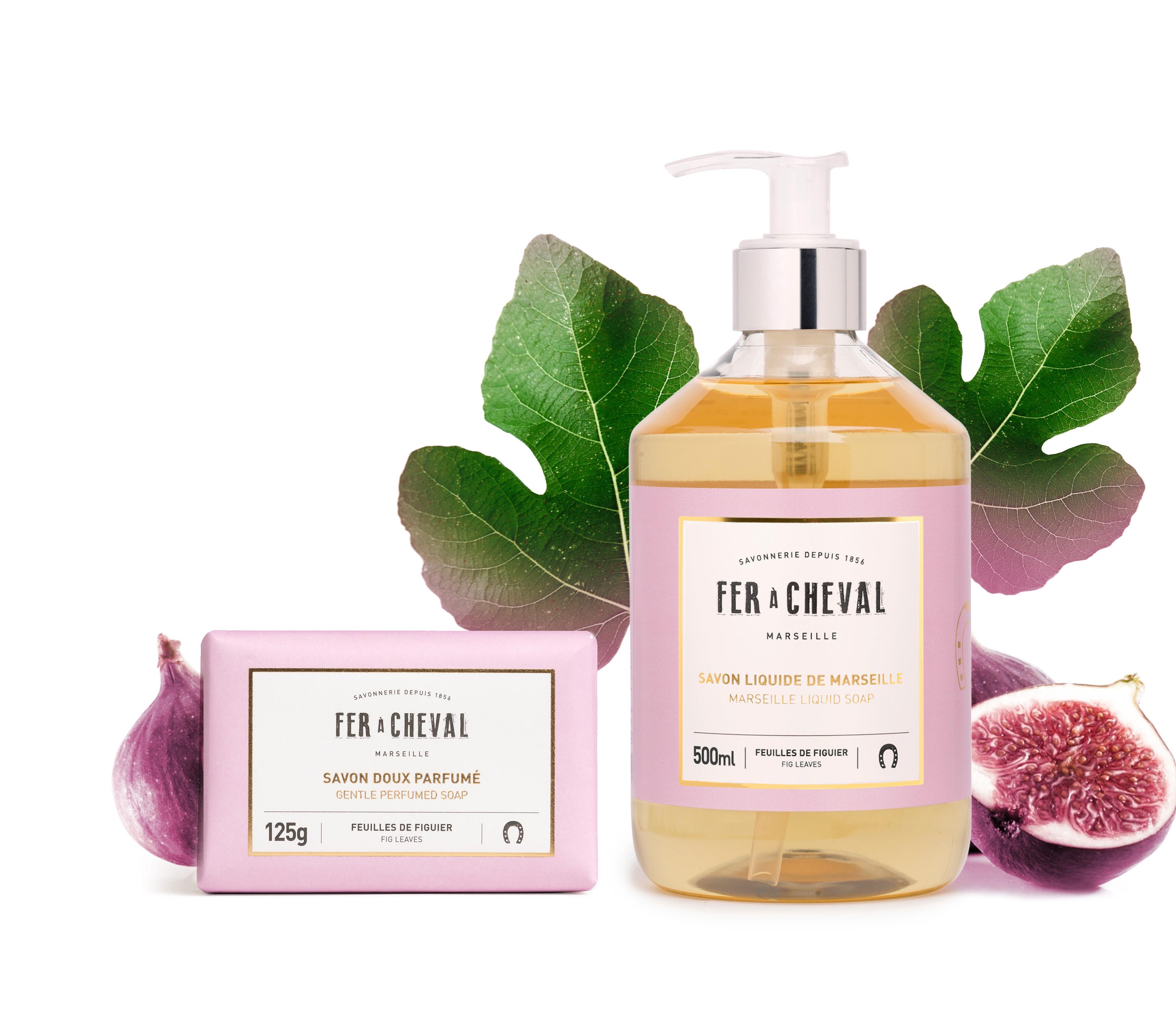 """La savonnerie Fer à Cheval présente sa nouvelle gamme """"Les Parfumés""""."""